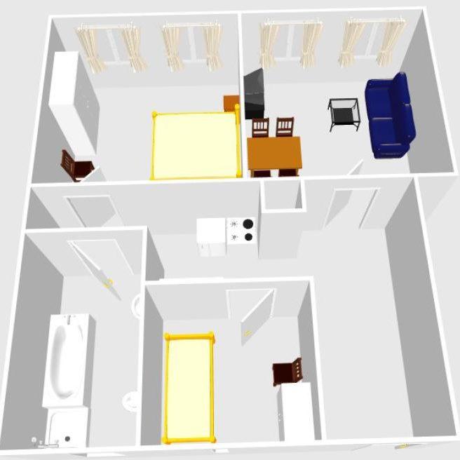 Grundriss Wohnung Bacchus