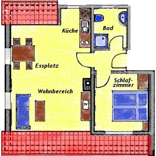 Grundriss Wohnung Pastorius