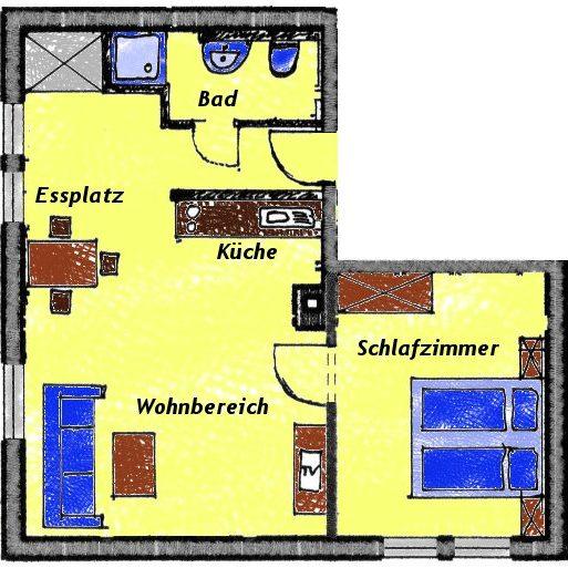 Grundriss Wohnung Steller